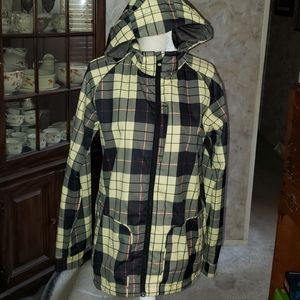 Like new burton rain/utility jacket